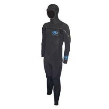 Hotline Men's CCU 5/4mm Chest-Zip Wetsuit