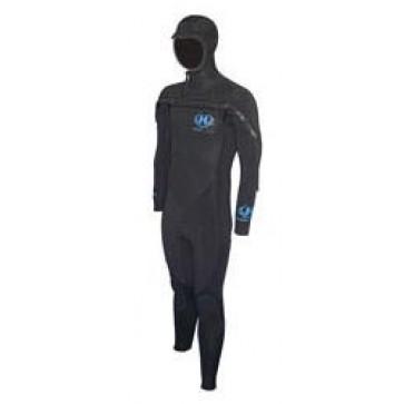 Hotline Men's CCU 5/4mm Chest-Zip Wetsuit