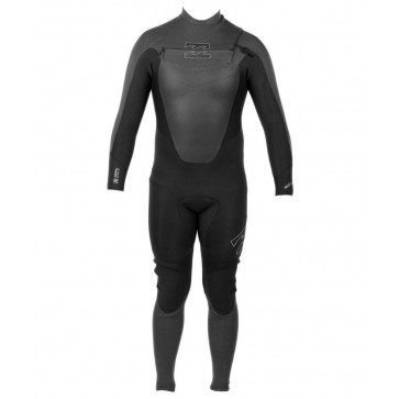 Billabong Foil 4/3 Chest Zip Wetsuit - Front View