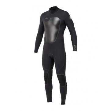 Quiksilver Cypher 3/2mm Fuse Flex Wetsuit - Black