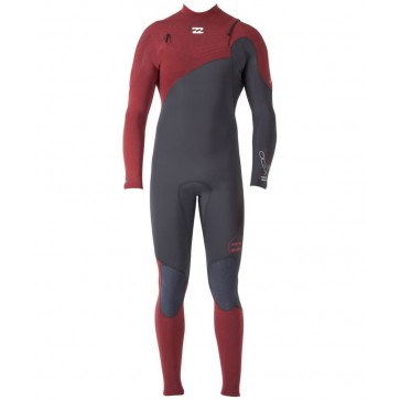 Billabong Xero Pro 3/2 Chest Zip Wetsuit - Clay