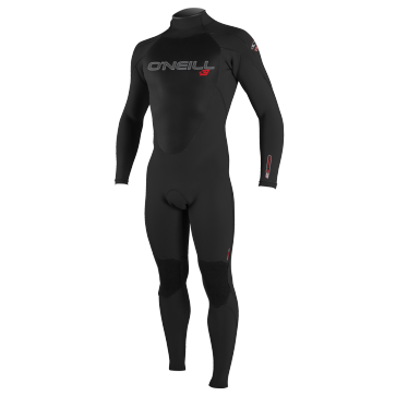 O'Neill Epic 5/4 Back Zip Wetsuit - Black - Front