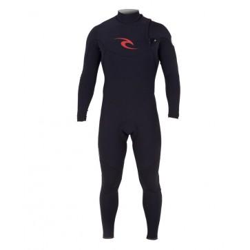 Rip Curl E-Bomb Pro 3/2 Zip Free Wetsuit - Black
