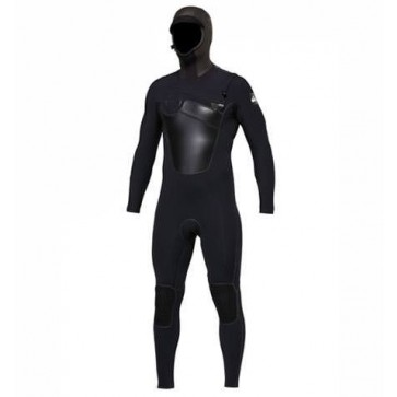 Quiksilver Cypher FuseFlex 5.5/5/4/3 Hooded Chest Zip Wetsuit
