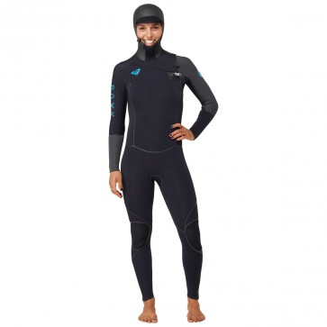 Roxy Women's Cypher 5/4/3 Hooded Wetsuit