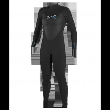 O'Neill Women's Epic 3/2 Back Zip Wetsuit - Black