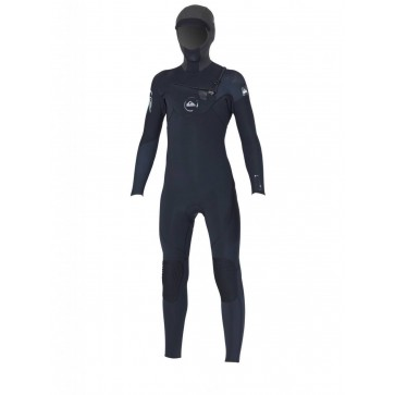 Quiksilver Youth Cypher 5/4/3 Hooded Chest Zip Wetsuit