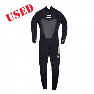 USED Billabong Foil 4/3 CZ Wetsuit - Size M