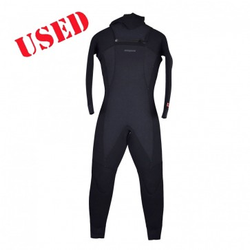USED Patagonia Women's R4 Hooded Wetsuit - Size 8T