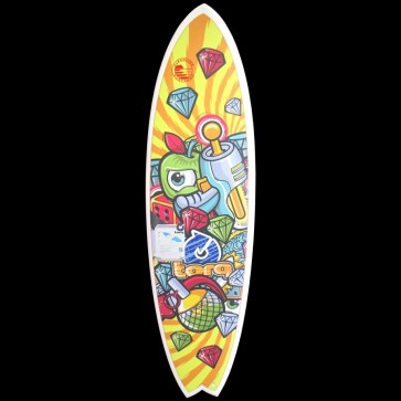 Torq Surfboards - 6'3'' Torq Mod Fish - Space Crime