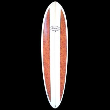 Doyle Surfboards - 7'2'' Doyle Funboard - Wood Stripes