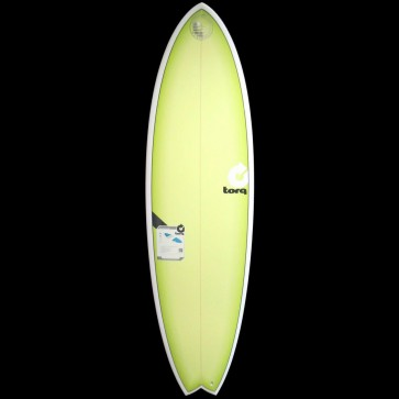 Torq Surfboards - 6'6'' Torq Mod Fish - Lime