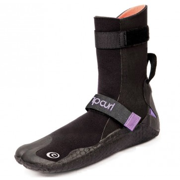 Rip Curl Wetsuits Women's Flash Bomb 5mm ST Wetsuit Boots