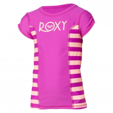 Roxy Youth Escape Rash Guard - Ultraviolet