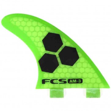 FCS Fins - AM-3 PC - Neon Green Hex