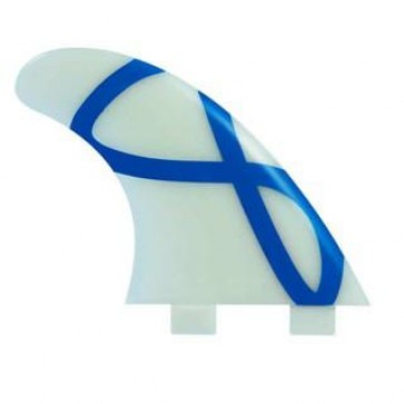 FCS Fins - M5 Glass Flex - Glass/Blue