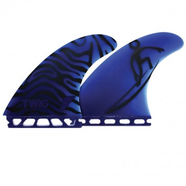 Future Fins - Twiggy Gun - Black/Blue