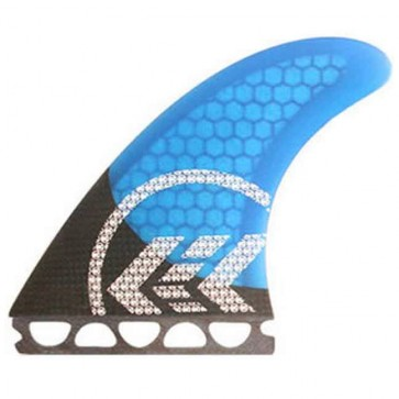 Kinetik Racing Fins - Parko Carbon Ultra Future - Blue/Blue Core