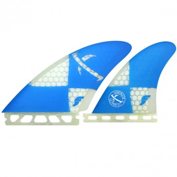Futures Fins - Lost Seaworthy Quad - Blue/Clear