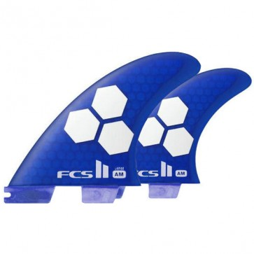 FCS II Fins - AM PC Tri-Quad Large - Blue