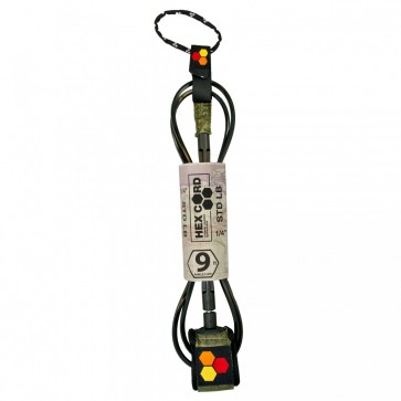 Channel Islands - Hex Cord Longboard Leash - Army
