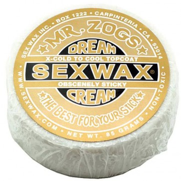 Sex Wax Dream Cream Topcoats Surf Wax