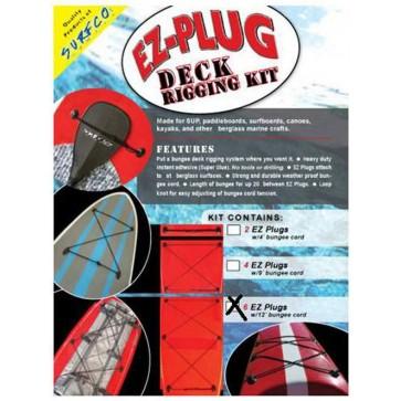 Surfco Hawaii - EZ-Plug Deck Rigging Kit - 6 Pack