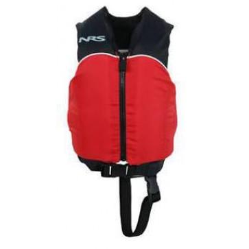 NRS - Child Crew Universal PFD Vest - Black/Red