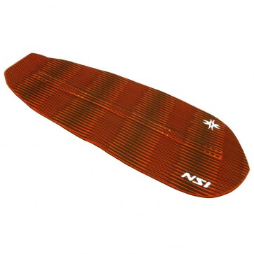North Shore Inc - Full Monty Surf Pad with Inserts - Red/Black Diamond