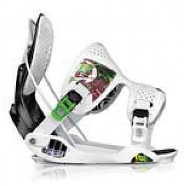 Flow Trilogy Bindings - White/Green