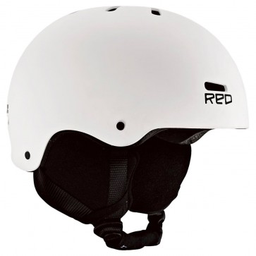 Red Trace Helmet - White