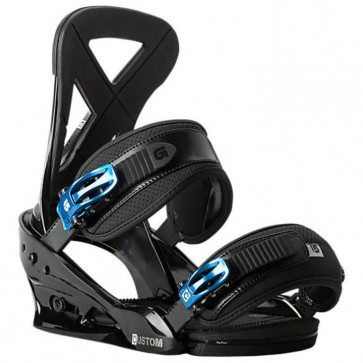 Burton Custom Snowboard Bindings - Black