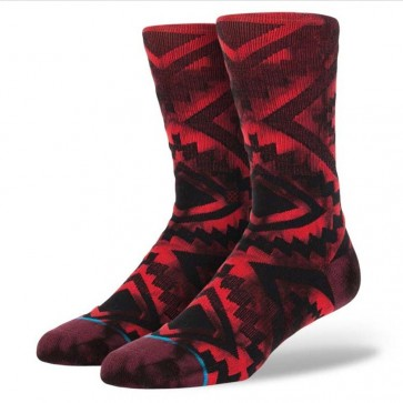 Stance Sutter Socks - Red
