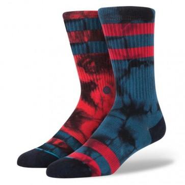 Stance Invert Socks - Blue/Red
