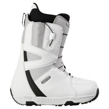 Burton Moto '13 Snowboard Boots - White/Grey/Black