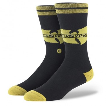 Stance Wu Tang Socks - Black/Yellow