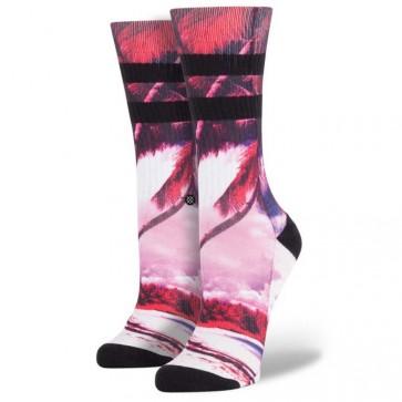 Stance Women's Electric Palms Socks - Black Palms