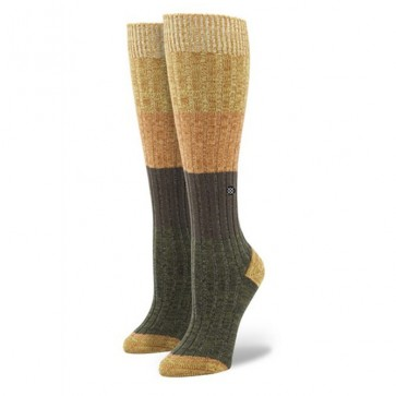 Stance Women's Hombre Socks - Orange/Yellow/Green