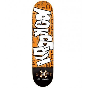 Krooked Block Eyes Skatebaord Deck - 8.1""