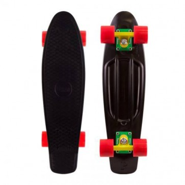"Penny Skateboards - Original 22"" Black Rasta Complete Skateboard"