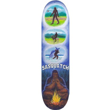 Sasquatch Meditation Skateboard Deck