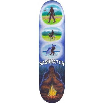 Sasquatch Meditation Skateboard Deck