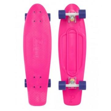 "Penny Skateboards - Nickel 27"" Pink White Purple Complete Skateboard"