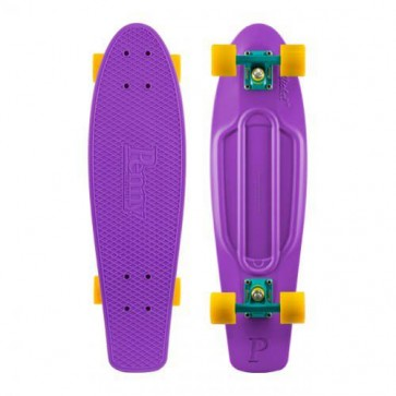 "Penny Skateboards - Nickel 27"" Purple Cyan Yellow Complete Skateboard"