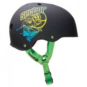 Sector 9 Carvin' 9er Helmet - Black