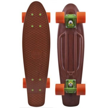 "Penny Skateboards - Organic 22"" Brown/Green/Orange"