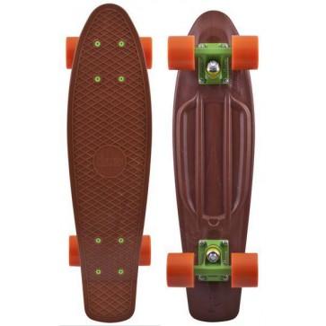 "Penny Skateboards - Organic 22"" Brown/Green/Orange"