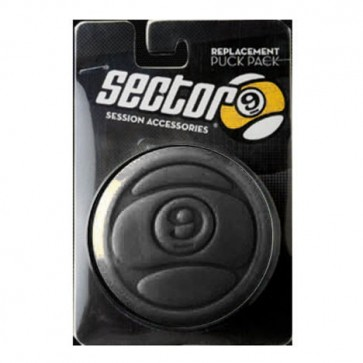Sector 9 Circular Puck Replacement Pack - Black