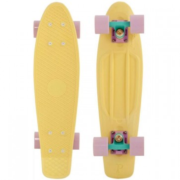 "Penny Skateboards - Pastel Penny  22"" Lemon/Blue/Purple Complete Skateboard"