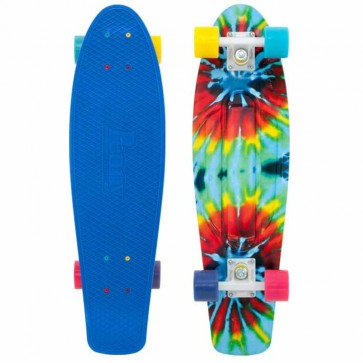 "Penny Skateboards - Tie Dye Nickel 27"" Skateboard Complete - Blue/White/Multi"